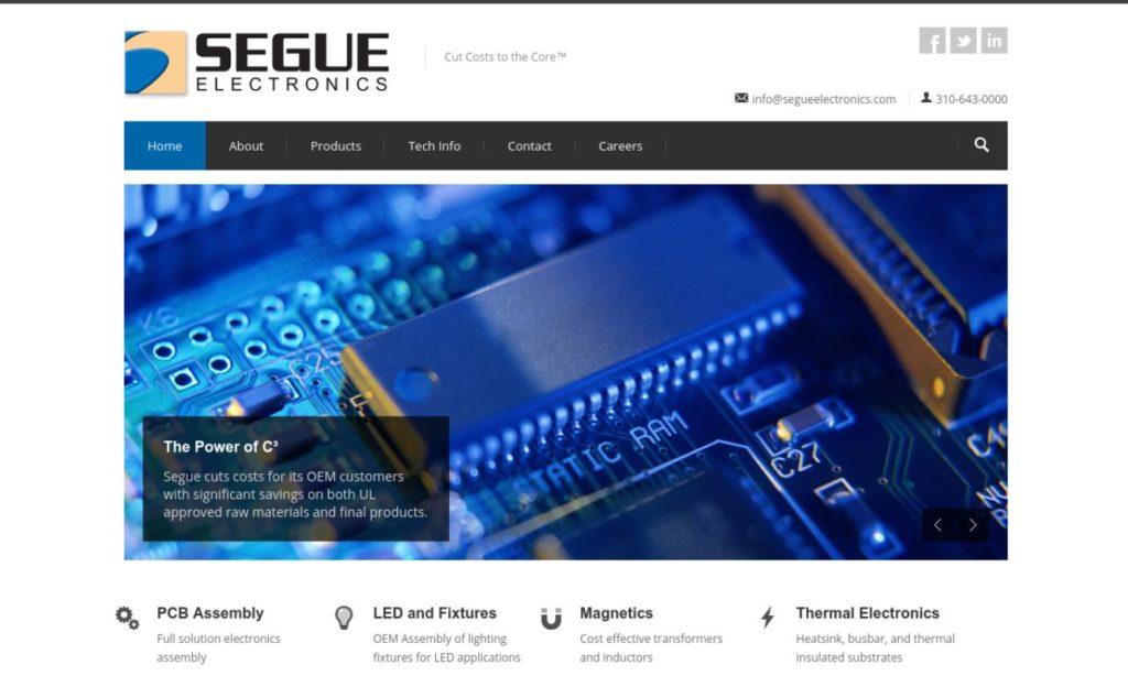 Segue Electronics, Inc.