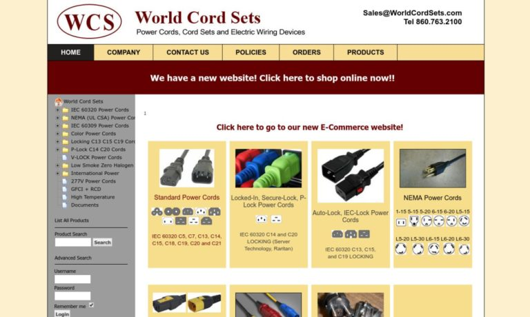 World Cord Sets, Inc.